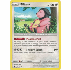Miltank 78/111 Uncommon - Pokemon Crimson Invasion Card