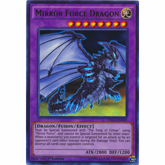 Mirror Force Dragon DRL3-EN059 Ultra Rare - YuGiOh Dragons of Legend Unleashed Card