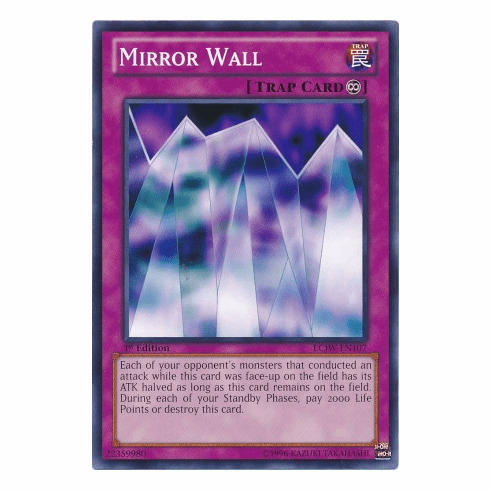 Mirror Wall LCJW-EN107 - YuGiOh Joey's World Common Card