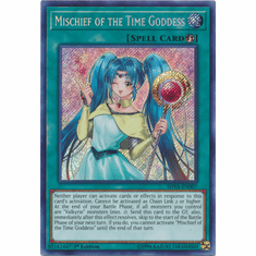 Mischief of the Time Goddess - SHVA-EN007 - Secret Rare