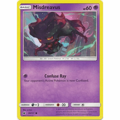 Misdreavus 39/111 Common - Pokemon Crimson Invasion Card