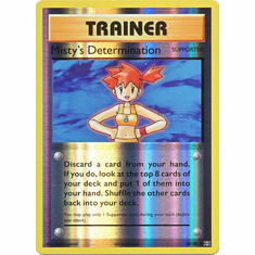 Misty's Determination 80/108 Uncommon - Reverse Pokemon XY Evolutions Single Card