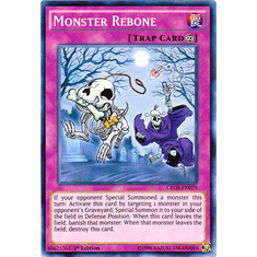 Monster Rebone CROS-EN079 Super Rare - YuGiOh Crossed Souls Card