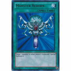 Monster Reborn LCJW-EN060 - YuGiOh Joey's World Ultra Rare Card