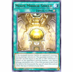 Moon Mirror Shield CROS-EN081 Rare - YuGiOh Crossed Souls Card