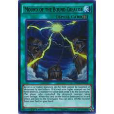 Mound of the Bound Creator DRL3-EN053 Ultra Rare - YuGiOh Dragons of Legend Unleashed Card