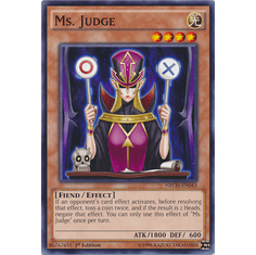 Ms. Judge NECH-EN043 - Common The New Challengers Card