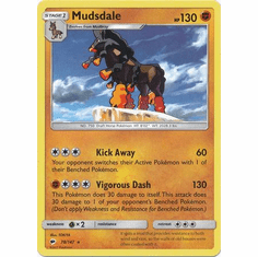 Mudsdale 78/147 Rare - Pokemon Sun & Moon Burning Shadows Card