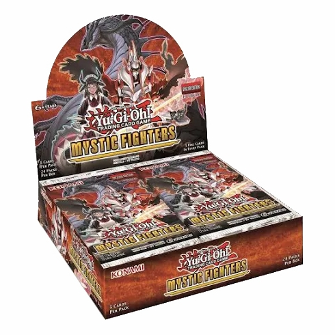 Mystic Fighters Booster Box yugioh