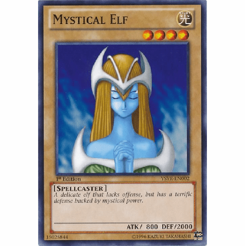 Mystical Elf YSYR-EN002 - YuGiOh Common Card