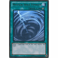 Mystical Space Typhoon GLD5-EN038 - YuGiOh Ghost / Gold Rare Card