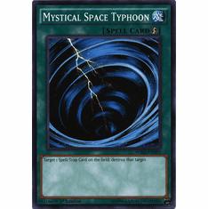 Mystical Space Typhoon WIRA-EN051 Common - YuGiOh Wing Raiders Card