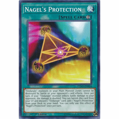 Nagel's Protection EXFO-EN054 Common - YuGiOh Extreme Force