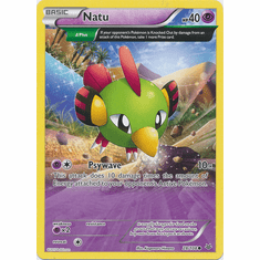 Natu 28/108 Common - Pokemon XY Roaring Skies Card