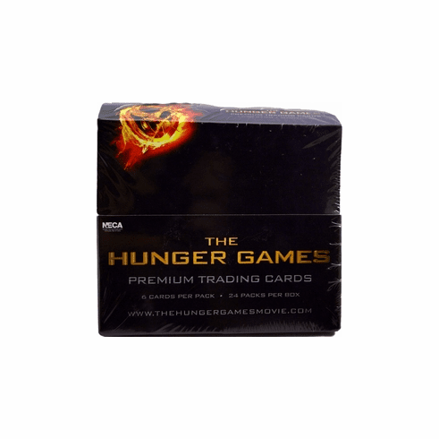 NECA The Hunger Games Movie Trading Cards Box (24 Booster Packs)