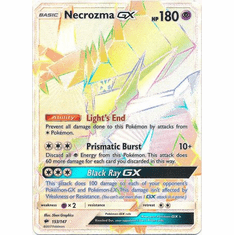 Necrozma GX 153/147 Hyper Rare - Pokemon Sun & Moon Burning Shadows Card