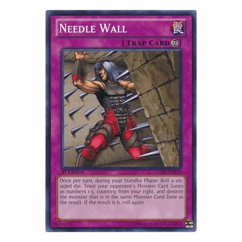 Needle Wall LCJW-EN270 - YuGiOh Joey's World Common Card