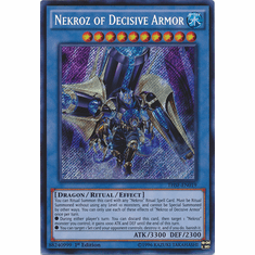 Nekroz of Decisive Armor THSF-EN019 - YuGiOh The Secret Forces Secret Rare Card