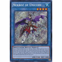 Nekroz of Unicore THSF-EN016 - YuGiOh The Secret Forces Secret Rare Card