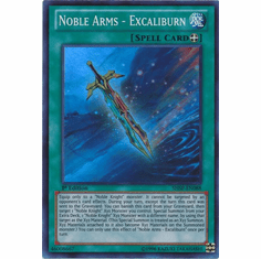 Noble Arms - Excaliburn SHSP-EN088 - YuGiOh Shadow Specters Super Rare