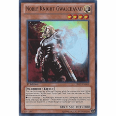 Noble Knight Gwalchavad LTGY-EN081- Lord Of The Tachyon Galaxy Ultra Rare