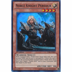 Noble Knight Peredur LVAL-EN085 - YuGiOh Legacy Of The Valiant Super Rare