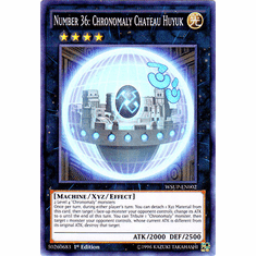 Number 36: Chronomaly Chateau Huyuk WSUP-EN002 Super Rare Card