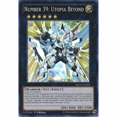 Number 39: Utopia Beyond NECH-EN095 - Super Rare The New Challengers Card