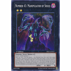 Number 43: Manipulator of Souls PRIO-EN047 - YuGiOh Primal Origin Common