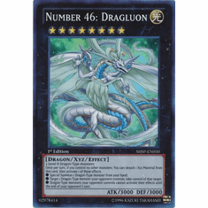 Number 46: Dragluon SHSP-EN050 - YuGiOh Shadow Specters Super Rare Card