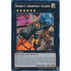Number 6: Chronomaly Atlandis YS13-ENV11 - YuGiOh V For Victory Common Card