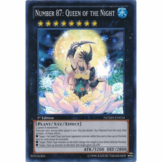 Number 87: Queen of the Night NUMH-EN034 - Number Hunters Super Rare Card