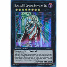 Number 88: Gimmick Puppet of Leo CT10-EN013 - YuGiOh Super Rare Promo Card