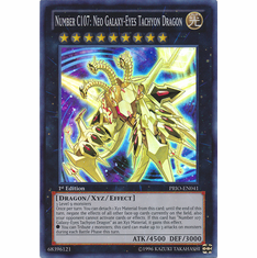 Number C107: Neo Galaxy-Eyes Tachyon Dragon PRIO-EN041 Super Rare Card