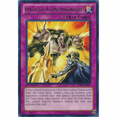 Oath of Companionship LVAL-EN079 - YuGiOh Legacy Of The Valiant Rare Card