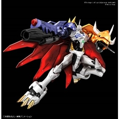"Omegamon (Amplified) ""Digimon"", Bandai Spirits Figure-rise Standard Item # BAN5057816 PRE-ORDER"
