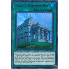 Palace of the Elemental Lords FLOD-EN060 - Ultra Rare - YuGiOh Flames of Destruction