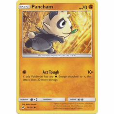 Pancham 65/131 Common - Pokemon Sun & Moon Forbidden Light Card