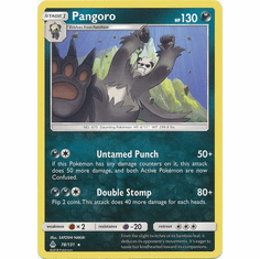 Pangoro 78/131 Rare - Pokemon Sun & Moon Forbidden Light Card