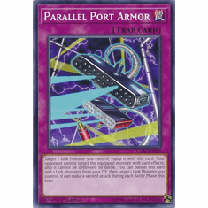 Parallel Port Armor EXFO-EN066 Common - YuGiOh Extreme Force