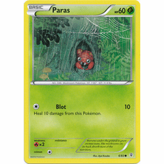 Paras 6/83 Common - Pokemon Generations Card
