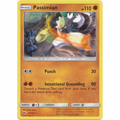 Passimian 79/147 Rare - Pokemon Sun & Moon Burning Shadows Card