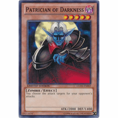 Patrician of Darkness GLD5-EN002 - YuGiOh Haunted Mine Common Card