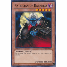 Patrician of Darkness LCJW-EN187 - YuGiOh Joey's World Common Card