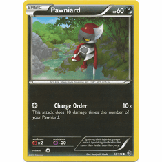 Pawniard 63/114 Common - Pokemon XY Steam Siege Card