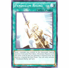 Pendulum Rising CROS-EN064 Common - YuGiOh Crossed Souls Card