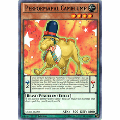 Performapal Camelump CORE-EN005 Common - YuGiOh Clash of Rebellions Card