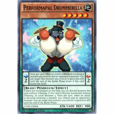 Performapal Drummerilla CORE-EN006 Common - YuGiOh Clash of Rebellions Card