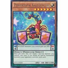 Performapal Kaleidoscorp DUEA-EN009 - RARE Duelist Alliance Card