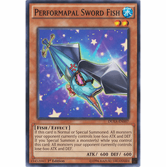 Performapal Sword Fish DUEA-EN007 - Common Duelist Alliance Card